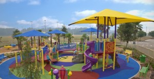 Inclusive, accessible playground in ormond fl