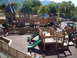Adventure Playground in Logan, Utah
