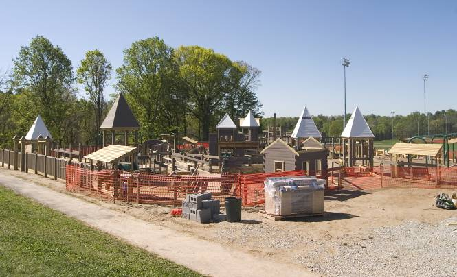 Freedom Playground--after build week