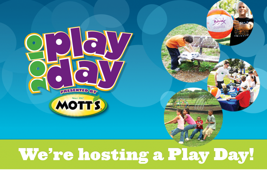 We are hosting a Play Day