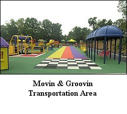 transportation area of playground