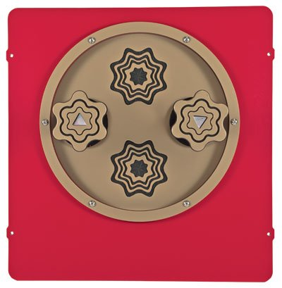 Kaleidospin Panel for accessible playgrounds