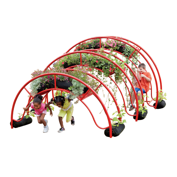 Garden Arches for accessible playground