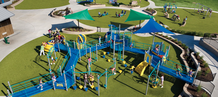 Taylor S Dream Inclusive Playground In Fort Wayne We Re