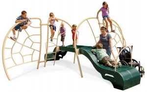 The Triumph Climber by Playworld Systems won the best new piece of inclusive equipment for 2013