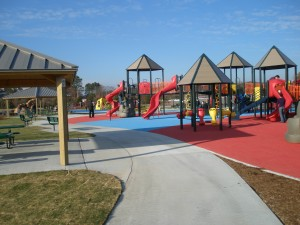 inclusive playground at mt. trashmore