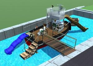 Tug Boat Playground in Richmond