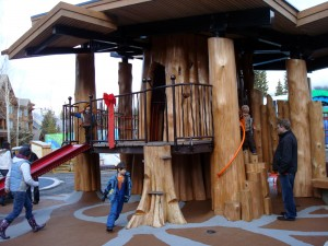Treehouse at Whistler's new Accessible Playground