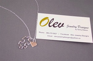 Let's Play necklace to support new accessible playground