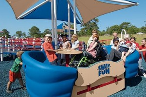 Sway Fun accessible glider