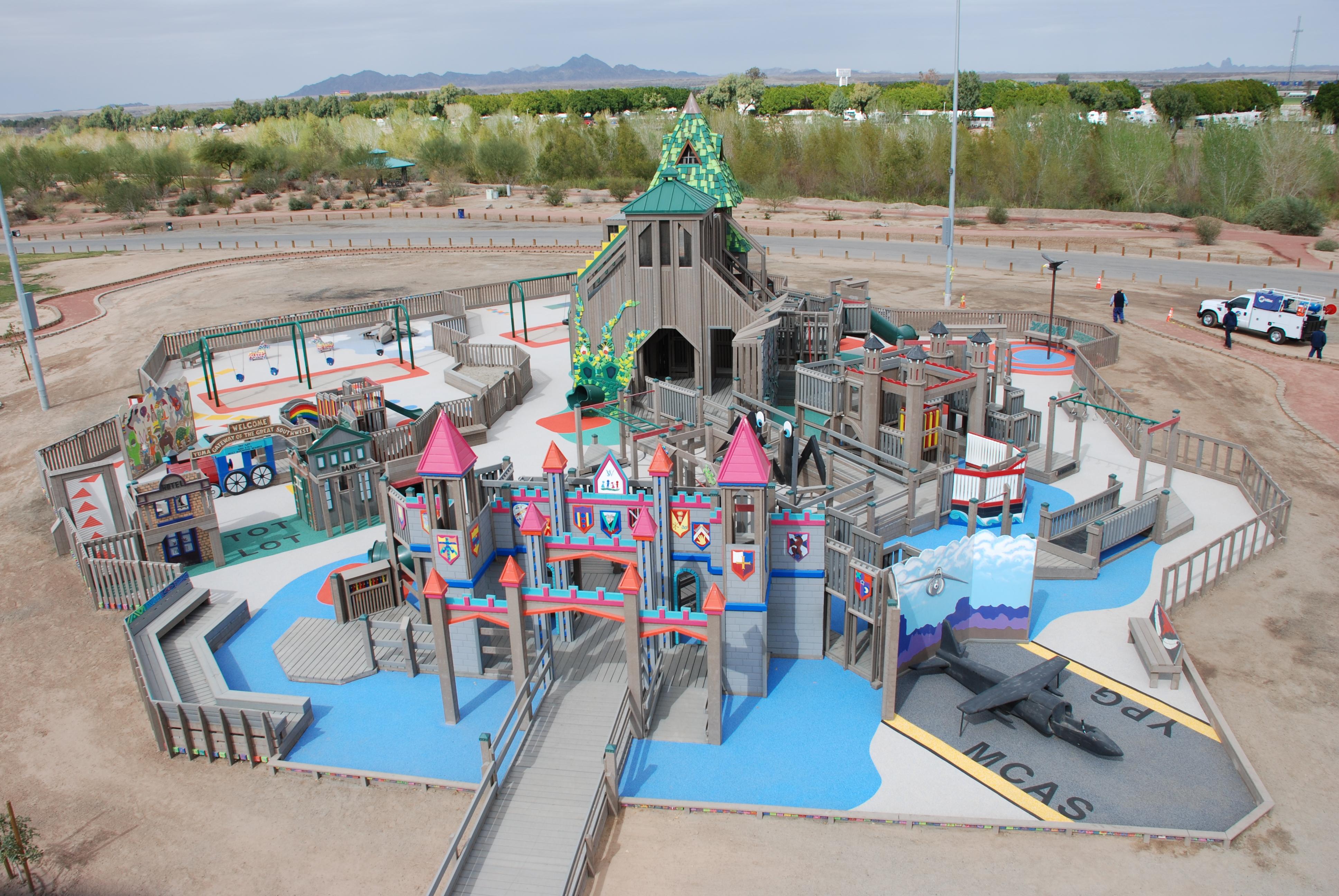 Yuma AZ Stewart Vincent Wolfe Creative Playground