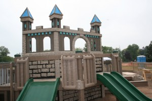 Castle at Possibility Playground