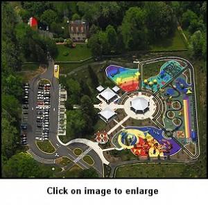 Aerial of Clemyjontri Park