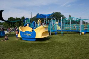 Playground Grass used at Taylor's Dream in Indiana