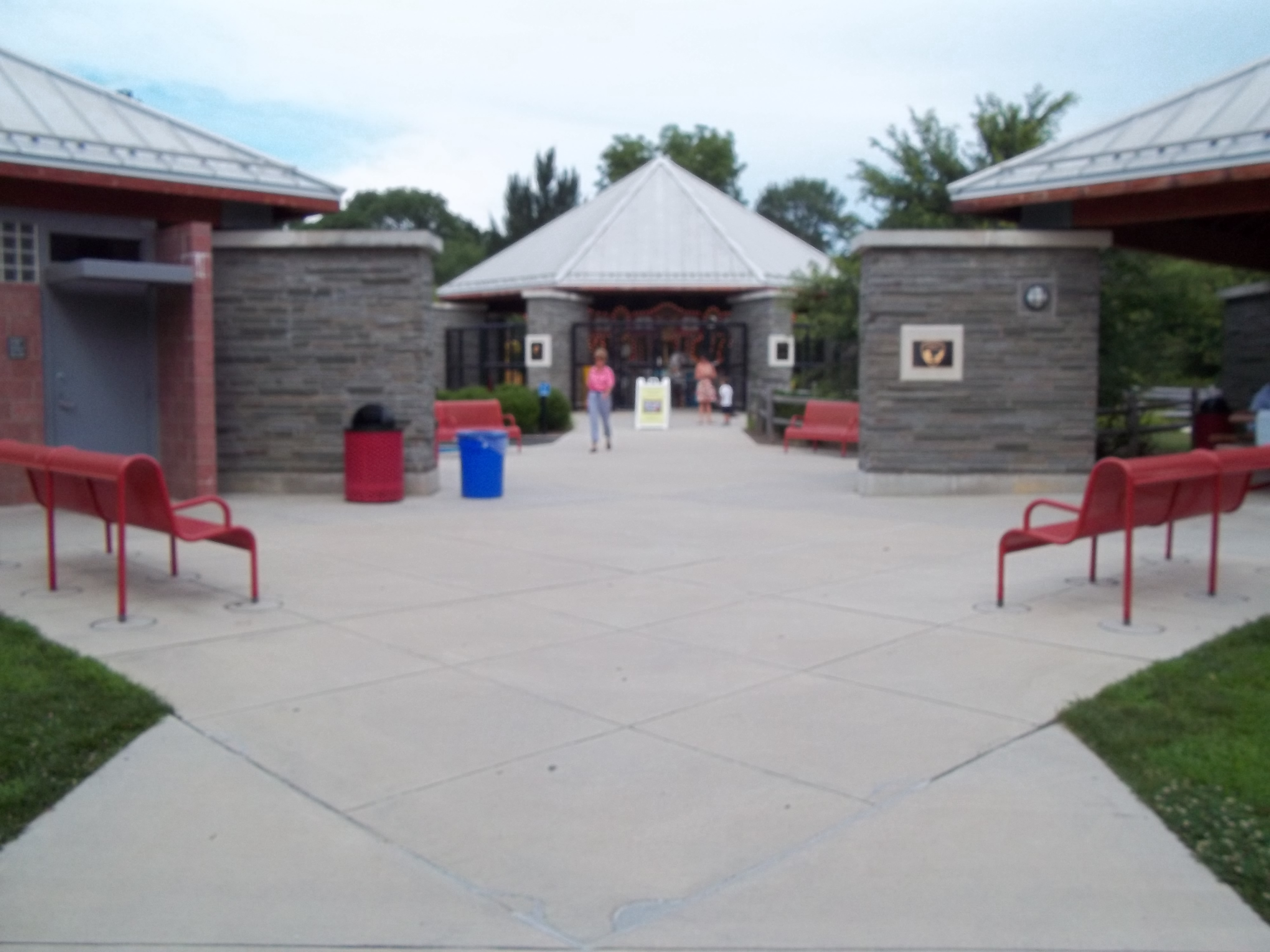 The entrance for Clemy an inclusive Playground
