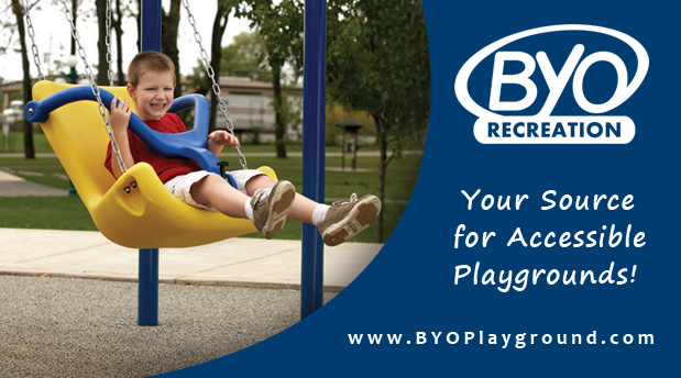 Banner demonstrating BYO's commitment to accessible playgrounds